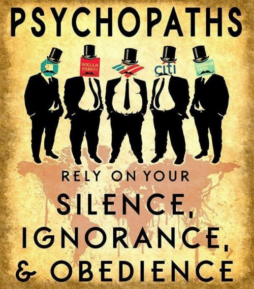 Psychopaths Rely on Your Silence Ignorance & Obedience