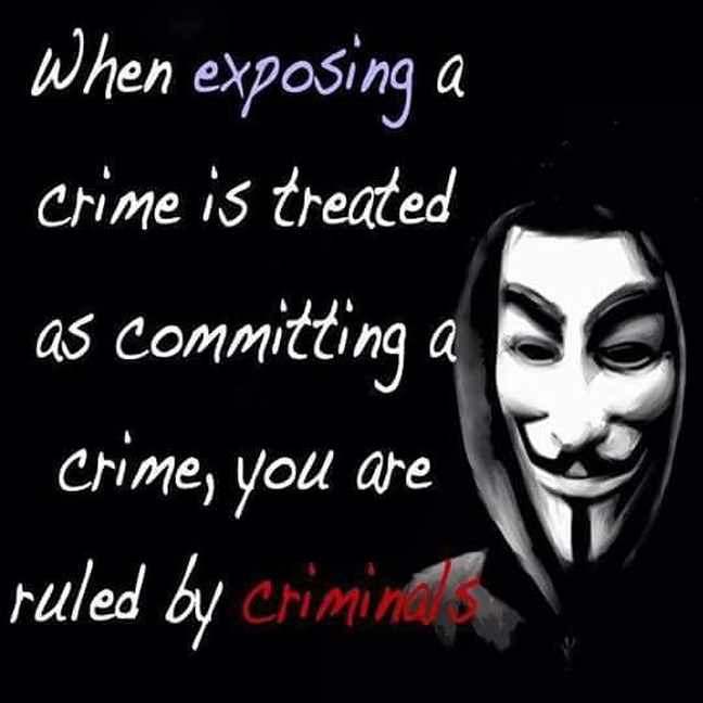Ruled by Criminals:  Professional Organised Crime - Abuse of Authority - Report Abuse - Stand in Truth - Expose Criminals - End Corruption - Document Everything To Put Real Psychopaths In Prison